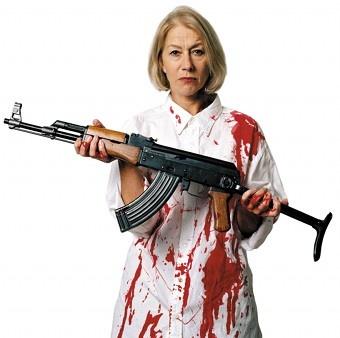 Control Arms campaign Helen Mirren | Oxfam International