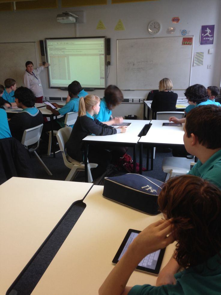 And this class answers questions with Response VE on iPads. | STEM ...