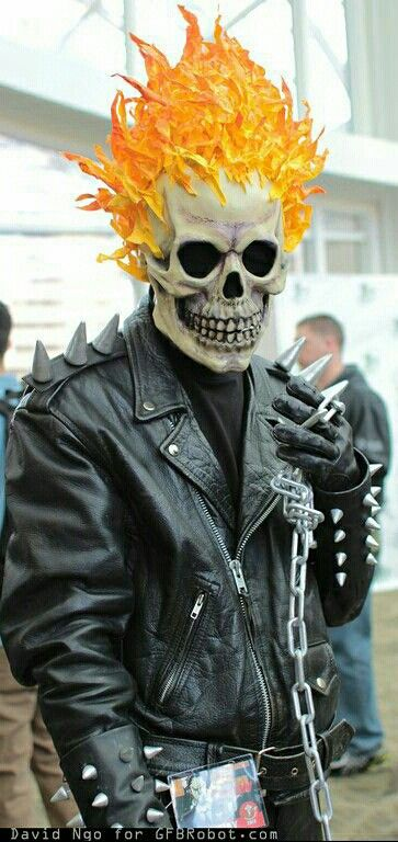 Ghost Rider Cosplay.