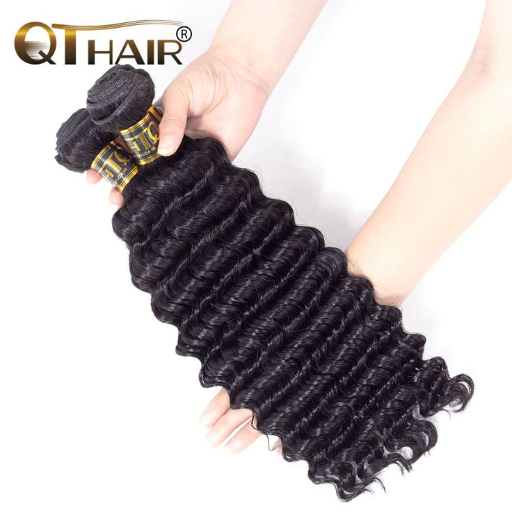 "QThair Deep Wave Brazilian Hair Weave Bundles Non remy Hair Bundles 8""-28"" Human Hair Weaving //Price: $US $18.61 & FREE Shipping //   http://humanhairemporium.com/products/qthair-deep-wave-brazilian-hair-weave-bundles-non-remy-hair-bundles-8-28-human-hair-weaving/  #straight_wigs"