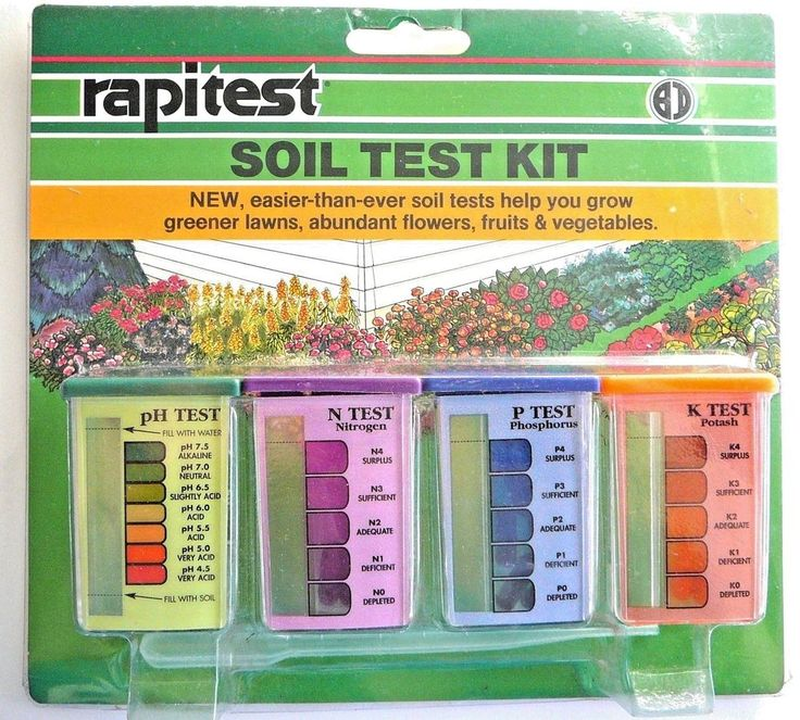 luster leaf soil test kit instructions