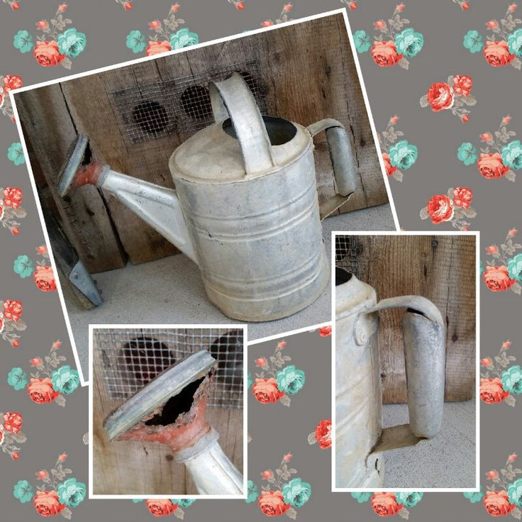 Check out this Rustic Watering Can from LoveTheJunk.