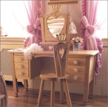 Cinderella Bedroom by Mark Wilkinson