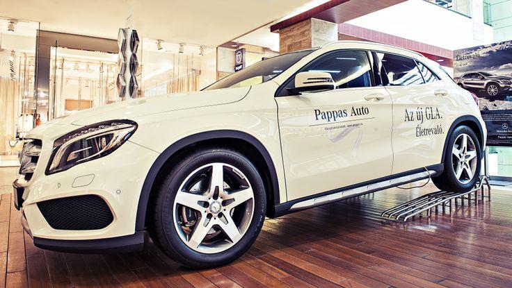 Pappas Autó - Mercedes GLA - MOM Park Shopping Days