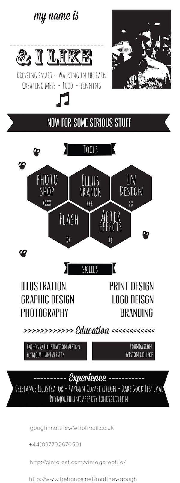 14 best Resume images on Pinterest   Resume design, Creative ...