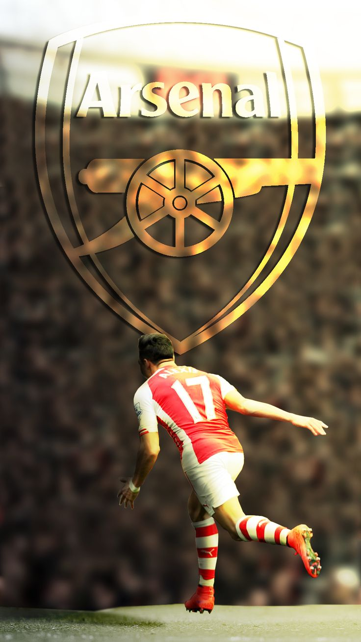 Alexis <3 #Arsenal #AlexisSanchez (Credits: I'm sorry I have forgotten the website from where I took this)