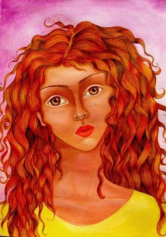 Curly readhead