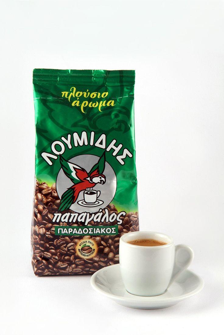 Λουμίδης Παπαγάλος Παραδοσιακός | #Greek #Traditional #Coffee