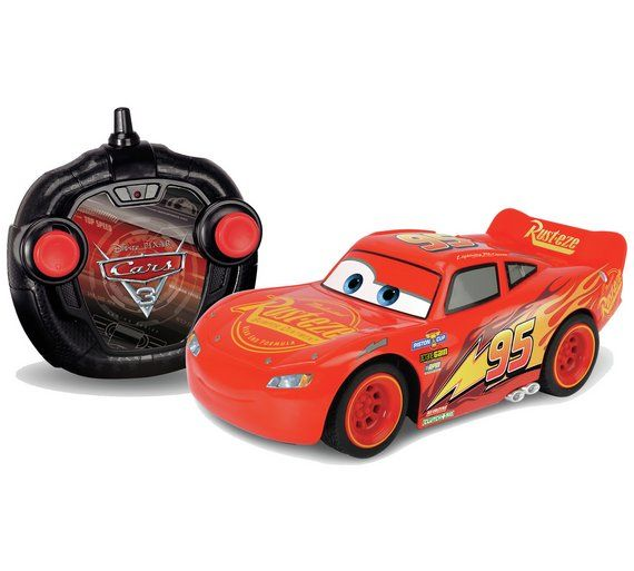 Buy Cars 3 Lightning McQueen RC Car 1:24 at Argos.co.uk, visit Argos.co.uk to shop online for Radio controlled cars, Radio controlled cars and toys, Toys