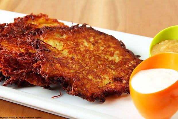 German Potato Pancakes Recipe - RecipeChart.com