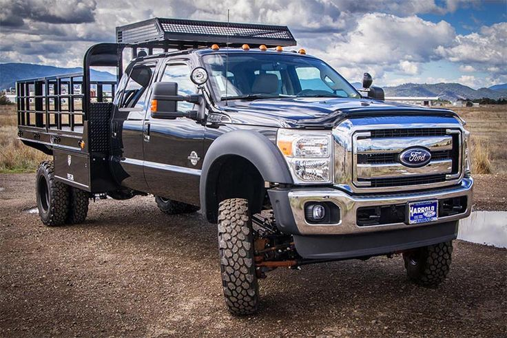 Gallery | Custom Pickup Truck Flatbeds | Highway Products, Inc