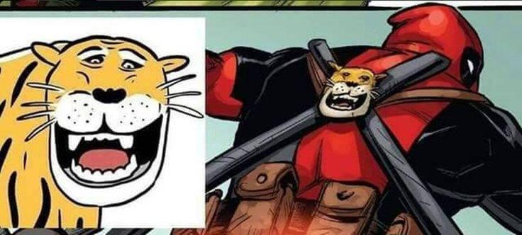 Wow! Macan Cisewu Muncul di Komik Marvel Deadpool