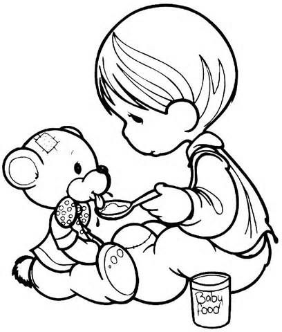 precious moments jesus loves me coloring pages | 43 best Care Bear | Christmas Wishes Bear images on ...