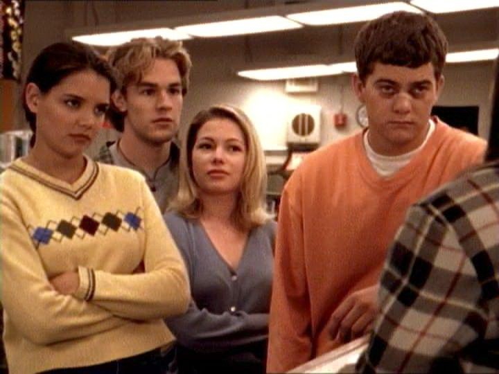 dawson's creek as the breakfest club... such a good episode!