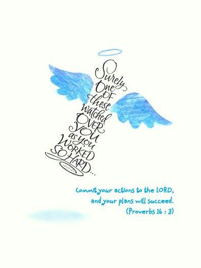 Proverbs 16 : 3
