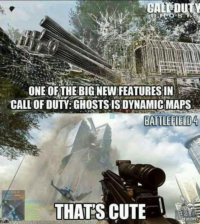 COD finally has something that Battlefield has had for years.