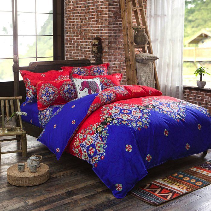 Discount Voucher Special!! >>> ENTER CODE WINTER AT CHECKOUT & SAVE FOR EACH AND EVERY ITEM IN OUR SPECIALS CATALOGUE! .... Specials items may be time limited so get yours quick! ....  Reversible Doona/Duvet Cover with Flat Sheet and Pillow Cases Bedding Set