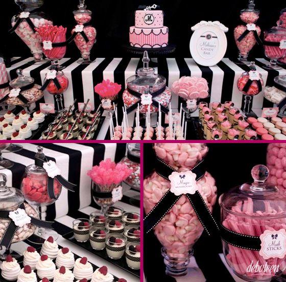 Festa Pink e Preto