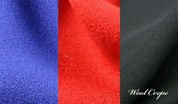 Crepe wool atau Kain crepe wool adalah kain crepe yang terbuat dari serat wol dan biasanya dibuat dengan teknik tenun plain woven.