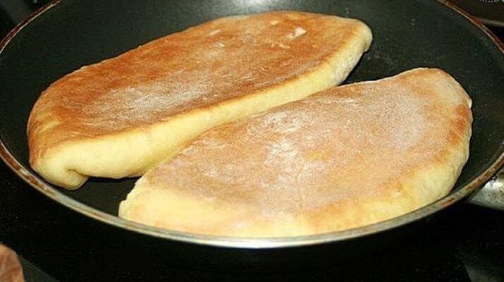 Хачапури на сковородке
