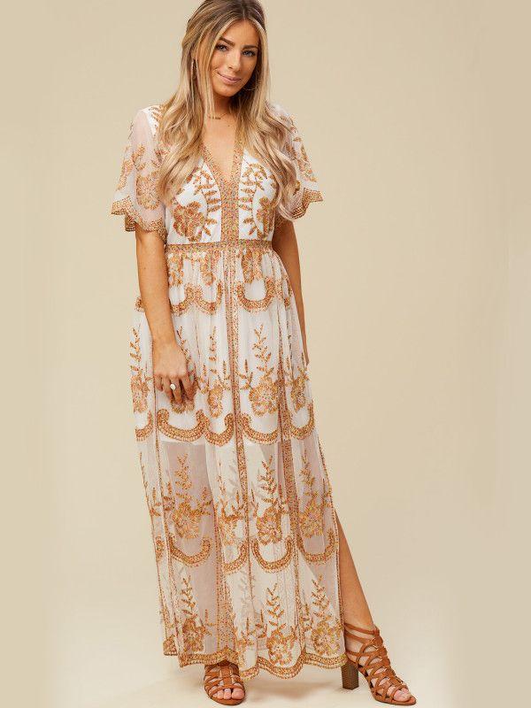 Altar D State Leadore Maxi Dress Dresses Arel