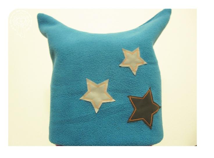 Fleecepipo heijastavilla tähdillä / Kids' fleece beanie with reflective stars