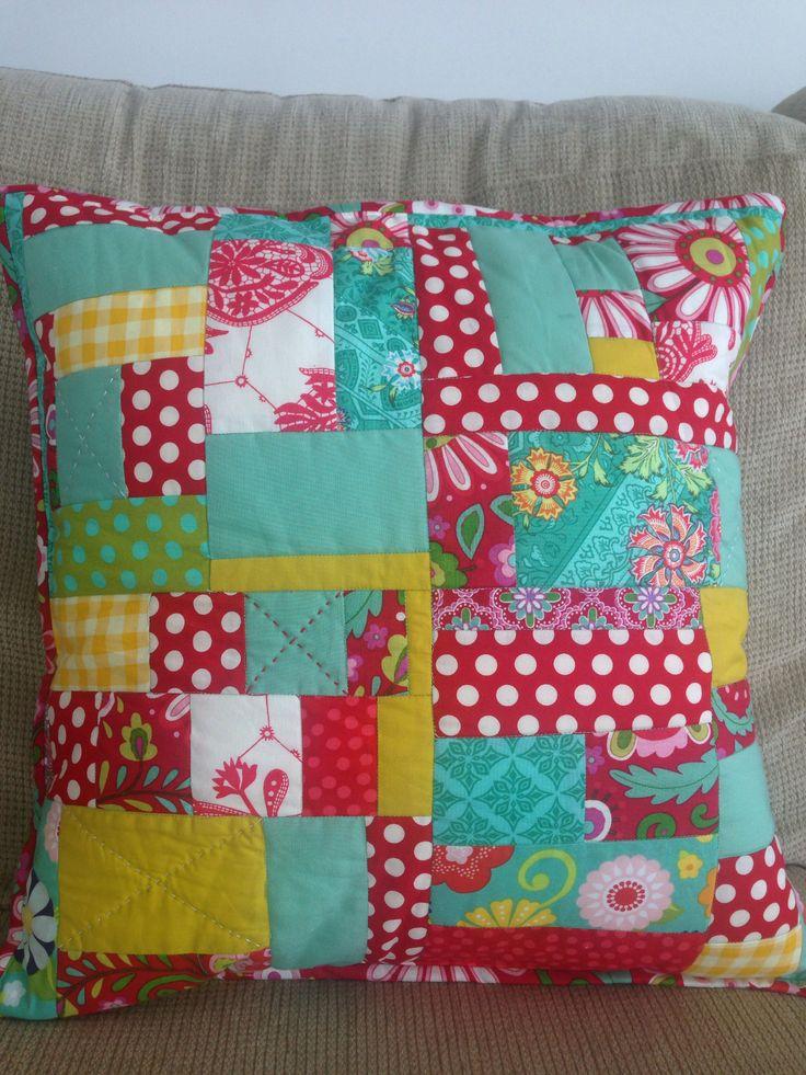 Cushion - patchwork