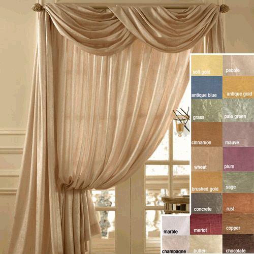39 best burgundy decor images on pinterest burgundy - Long or short curtains in living room ...
