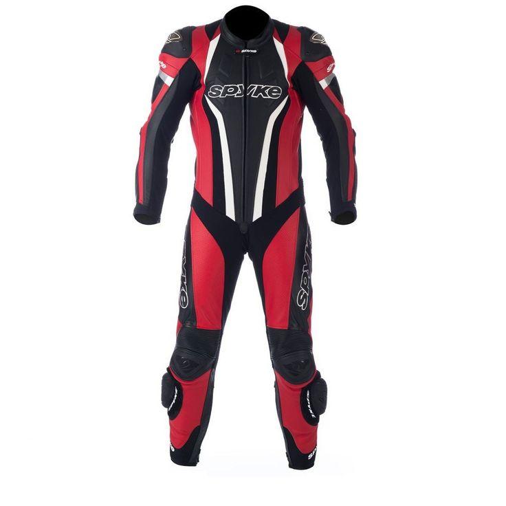 mono 1 pieza Spyke top sport mix kangaroo rojo/negro/blanco