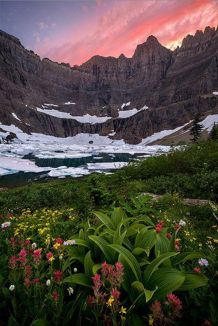 Many Glacier, Glacier National Park, Montana, USA