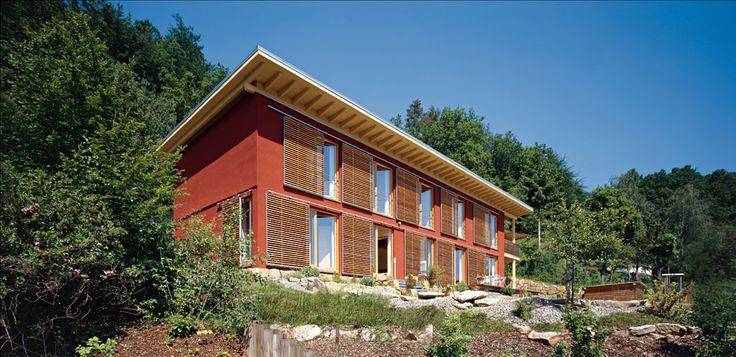 268 best hausformen anbauten usw images on pinterest for Wohnbox fertighaus