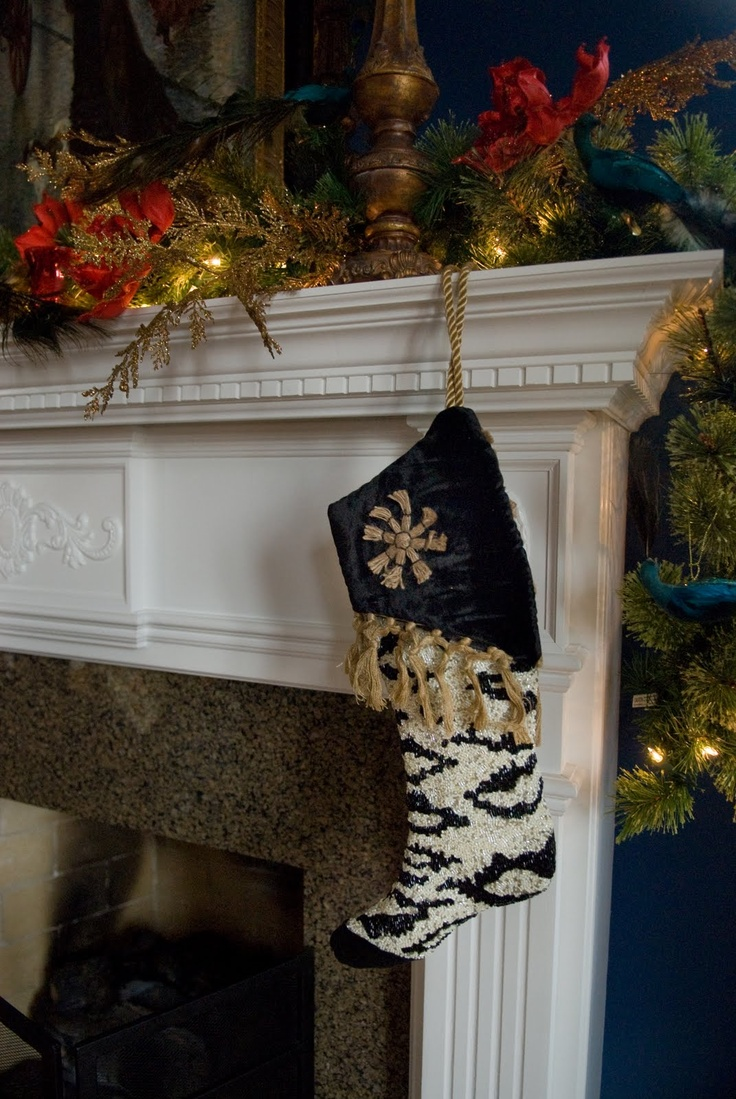 Romancing the Home: Fireplace Mantels Dressed for the Holidays