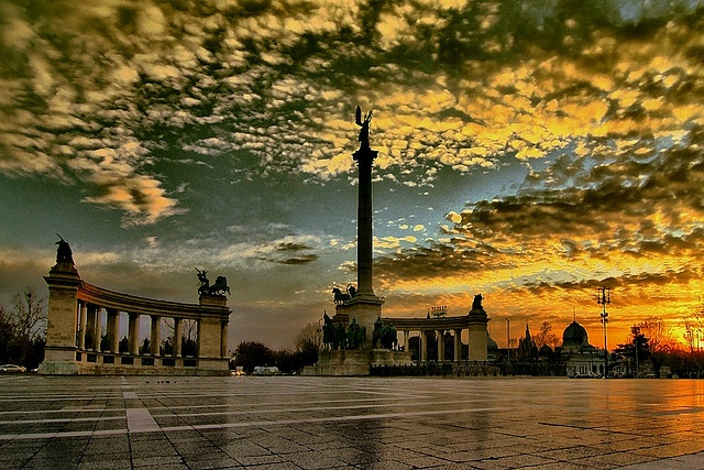 Heroes' Square #Budapest #Hungary