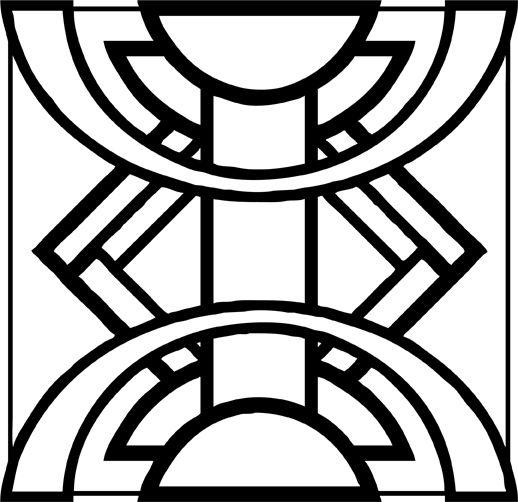 Art Deco Line Design : Best art deco shapes images on pinterest