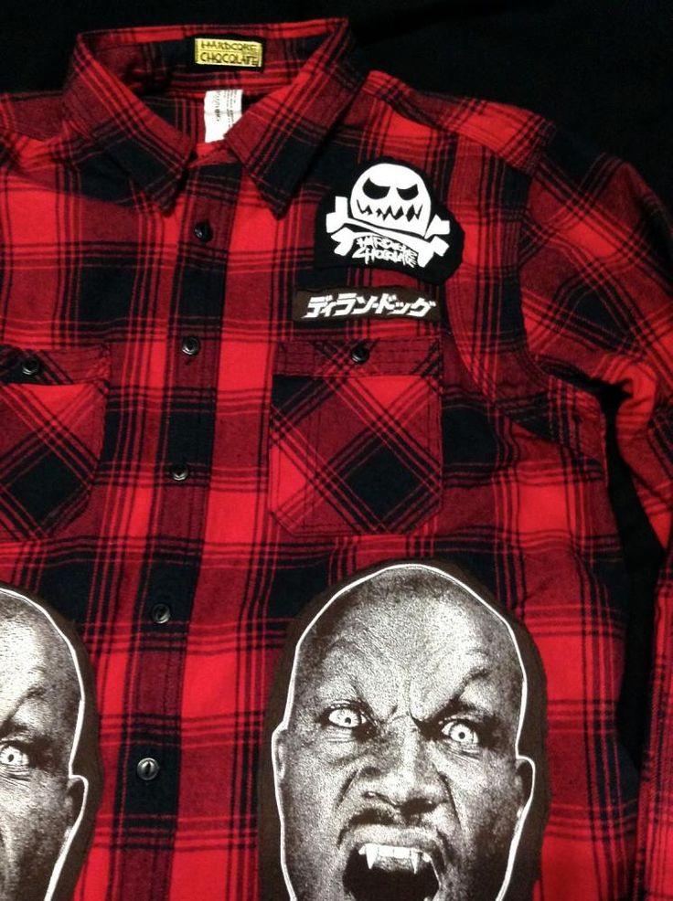 フランケンメイクス38/ネルシャツ(ヘヴィーフランネルシャツ) - ホラーにプロレス!カンフーにカルト映画!Tシャツ界の悪童 ハードコアチョコレート