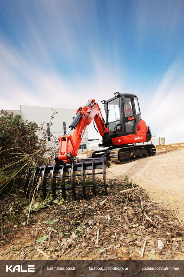 Kubota Mini Excavator - Mini Ekskavatör KX121 Tek ihtiyacınız Kubota Mini Ekskavatör! - All you need is Kubota mini Excavator!