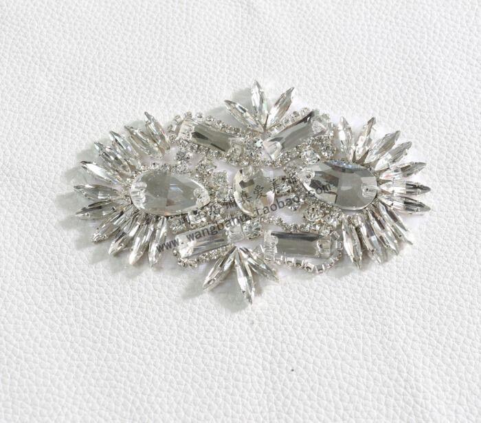 Новый корейский красивый ювелирные изделия с бриллиантами лук камея стекла Шить…