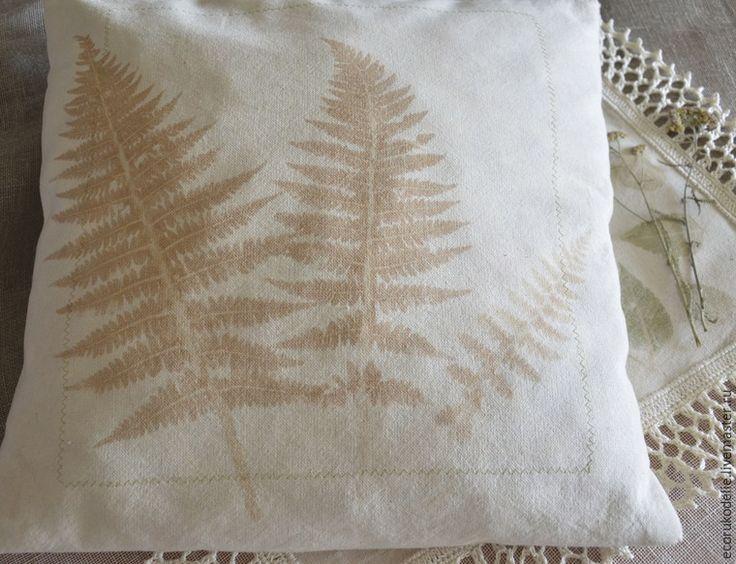 Как сделать отпечатки растений на ткани