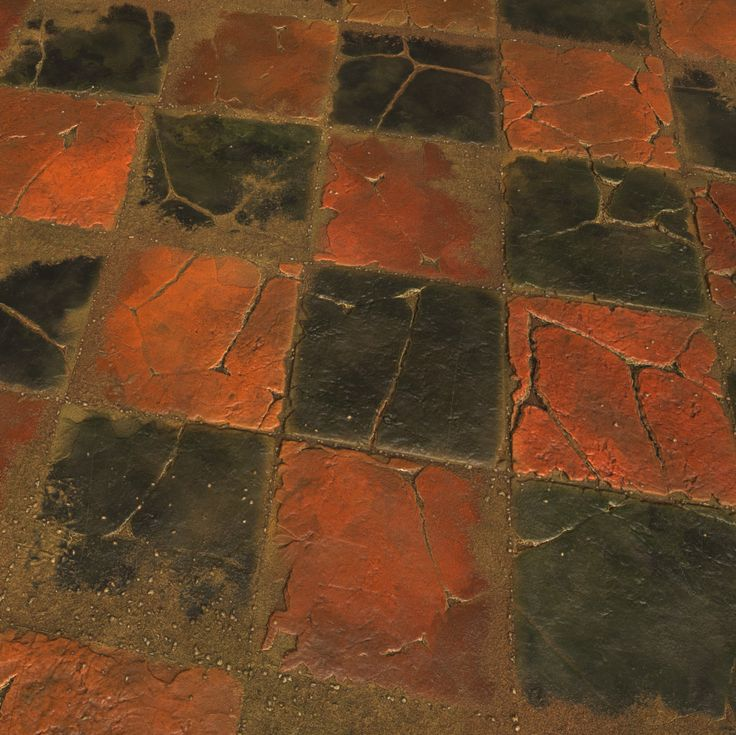 Substance_Designer - 100% procedural Worn Stone Floor Tiles, Robert Wilinski on ArtStation at https://www.artstation.com/artwork/n4G1r