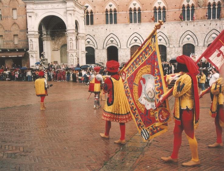 Il Palio Parade, Siena