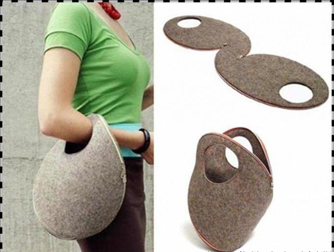 Оригинальные сумки своими руками - без шитья