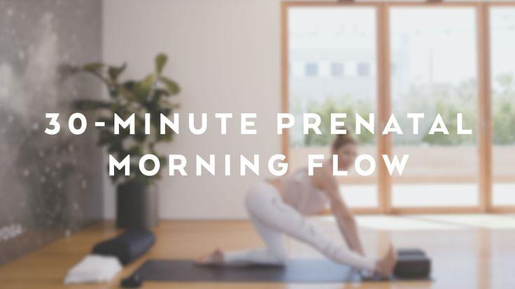 30-Minute Alo Yoga Prenatal Morning Flow with Andrea Bogart