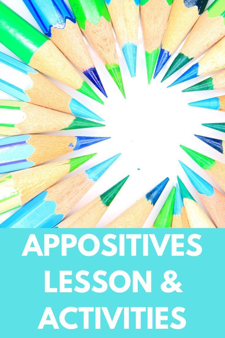 Appositives And Appositive Phrases Powerpoint With Notes 6th 12th Grade Middle School Writing Language Arts Worksheets Middle School Activities [ 1102 x 735 Pixel ]