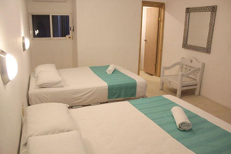 Habitación Privada Hostal MX Playa del Carmen | Hostal MX : Playa del Carmen Hostel