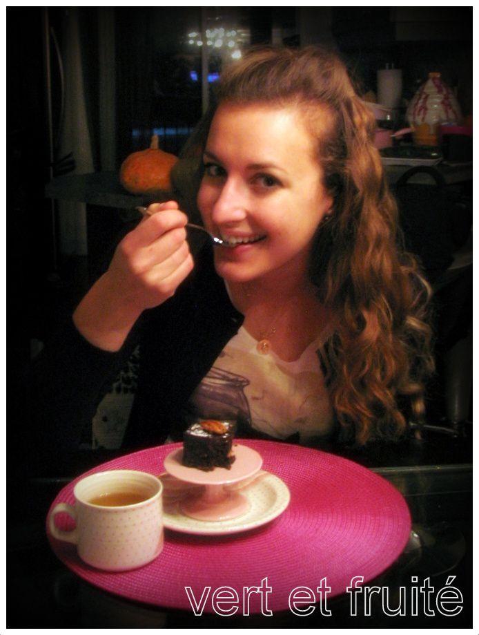 Brownies crus de Crudessence | vert et fruité
