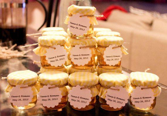1 pcs Wedding Favor bocaux de verre, des housses en tissu, des balises et des ficelles de chanvre