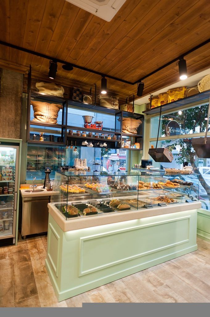 Knockout Bakery Interior Design Ideas : ΣÏu2021εδια Ïu2020