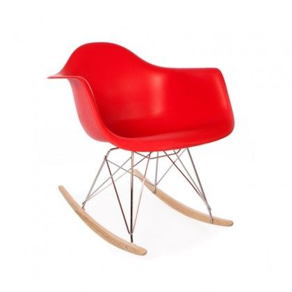 Charles Eames Inspired RAR Chair Red (With images