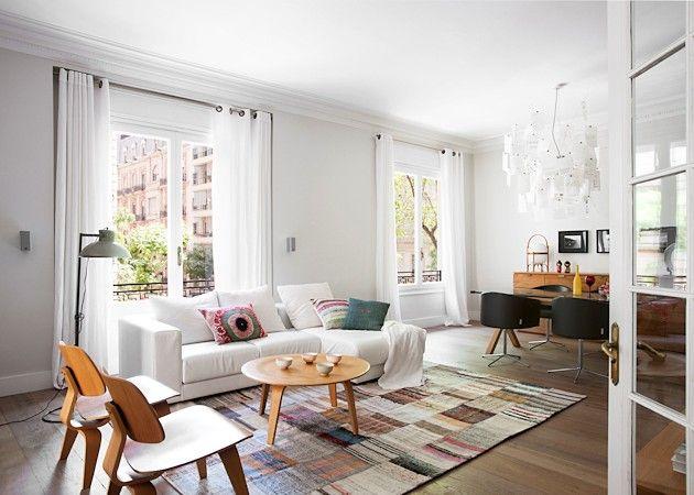 Scandinavian interior with Spanish temperament