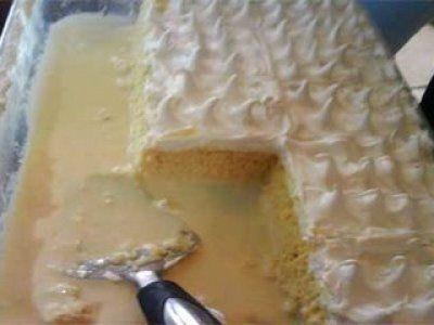 Receta de Torta Tres Leches